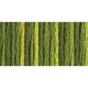 DMC 415 5-4066 Colour Variations Pearl Cotton Thread, Size 5, 27-Yard, Amazon Moss Multi-Coloured