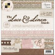 Paper Stack 30cm x 30cm 48/Pkg-Lace & Linen