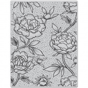 Hero Arts Cling Stamps 12cm x 15cm -Large Flower Background