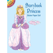 Storybook Princess Sticker Paper Doll