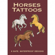 Dover Publications, Horses Tattoos Book