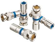 Ideal 89-5048 RG-6 BNC Compression Connectors, 35pk