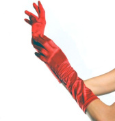 Elbow Length Gloves- Red