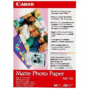 Matte Photo Paper, 4 x 6, 45 lb., White, 120 Sheets/Pack
