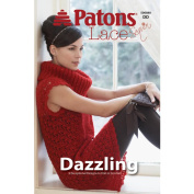 Spinrite Books 160028 Patons-Dazzling -Lace Sequin