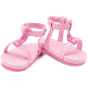 Springfield Collection Strappy Sandals-Pink