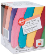 Wilton 601-5580 1/60ml Certified-Kosher Icing Colors, Set of 12