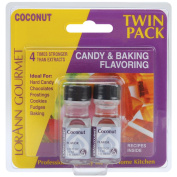 Candy & Baking Flavouring .3700ml Bottle 2/Pkg-Coconut
