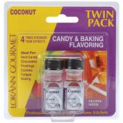 Candy & Baking Flavouring .3700ml Bottle 2/Pkg-Coconut