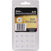 Self-Sticking Reinforcements 544/Pkg-White