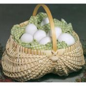 Blue Ridge Basket Kits-Egg Basket 18cm x18cm w/Handle