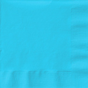 Creative Expressions Beverage Napkins - 50-Pack, Pastel Blue