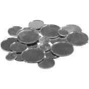 Darice 1613-52 Round Glass Mirror W/Bevel Edge Assorted Sizes