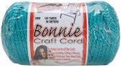 Bonnie Macrame Craft Cord 6mm 100 Yards-Turquoise