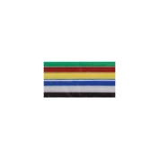 Peel & Stick Foam Sheets 22cm x 30cm 6/Pkg-Basic Colours