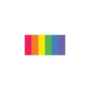 Quilling Paper Mixed Colours .320cm 100/Pkg-Rainbow