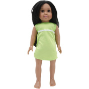 Springfield Collection Pre-Stuffed Doll 46cm -Sofia-Dark Hair and Brown Eyes