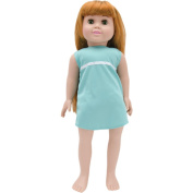 Springfield Collection Pre-Stuffed Doll 46cm -Olivia-Red Hair and Green Eyes