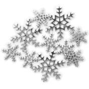 Favourite Findings Buttons-Snowy Splendour 8/Pkg