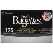 Bagettes Heavy Duty Reclosable Bags 175/Pkg-Clear 7.6cm x 13cm