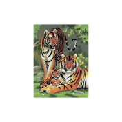 """Junior Small Paint By Number Kit 22cm X 11-3/4""""-"""