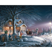 Terry Redlin Collection Jigsaw Puzzle 1000 Pieces 60cm x 80cm -Winter Wonderland