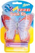 3-D Suncatcher Quick Kits-Purple & Yellow