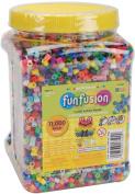 Perler Fuse Beads 11,000/Pkg-Fun Fusion/Multi Mix