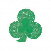 """Paper Doilies 15cm Shamrock 18/Pkg""""-Green"""