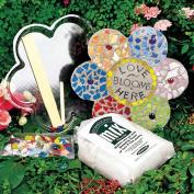 Milestones Mosaic Flower Stepping-Stone Kit
