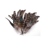 Strung Chinchilla Feathers-Natural