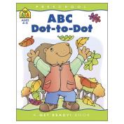 School Zone Preschool Workbooks 32 Pages-Abc Dot To Dot