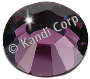 HotFix Swarovski Crystals 4mm-Amethyst 24/Pkg