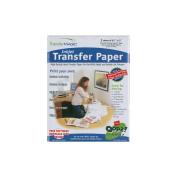 Transfer Magic Ink Jet Transfer Paper, 22cm x 28cm , 3/pkg