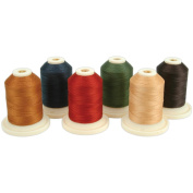 Thimbleberries Cotton Thread Collections 500 Yards 6/Pkg-Winter
