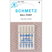 Ball Point Jersey Machine Needles-Sizes 10/70 (2), 12/80 (2) & 14/90