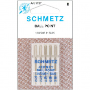 Ball Point Jersey Machine Needles-Sizes 10/70 (2), 12/80 (2) & 14/90