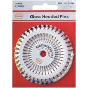 Glass Headed Pins -Size 19 40/Pkg