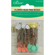 Clover 100 Count -Pins Flower Head