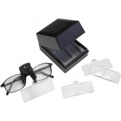 Daylight Naturalight StarMag Clip-On Spectacle Magnifier, Black