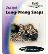 Snap Source Tack Buttons Size 27 16mm 10/Pkg-Antique Silver