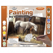 Adult Large Paint By Number Kit-New Friends
