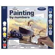 Adult Paint By Number Kit 38cm - 1cm x 29cm -Queen Departs