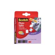 3M Scotch Photo Splits Double-Sided 850pk, .110cm x .110cm