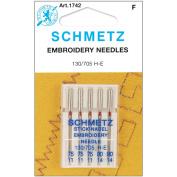 Embroidery Machine Needles-3-75, 2-90 5/Pkg