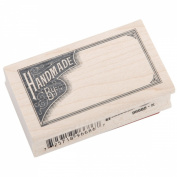 Inkadinkado Wood Mounted Rubber Stamp L-Handmade B