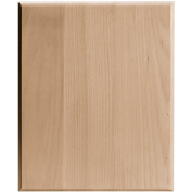 Walnut Hollow 20cm by 25cm Basswood Rectangle Plaque