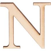 Walnut Hollow 200251 Wood Letters & Numbers 1. 13cm 2-Pkg-N