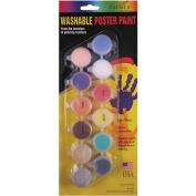 Washable Poster Paint Pots-Pastel