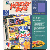 Memory Book Top-Loading Page Protectors 22cm x 28cm 50/Pkg-(1) 22cm x 28cm Pocket
